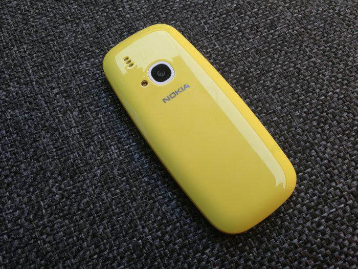 Aiempi alkuperäinen uusi Nokia 3310.