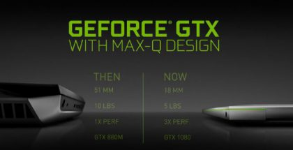 NVIDIA GeForce Max-Q.