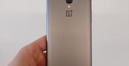OnePlus 5:n prototyyppi Android Authorityn julkaisemassa kuvassa.