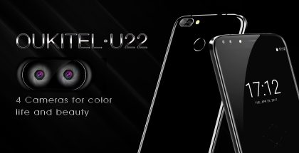 Oukitel U22:n erikoisuus ovat neljä kameraa.