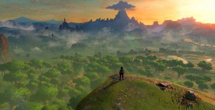 Kuvankaappaus The Legend of Zelda: Breath of the Wild -pelistä.