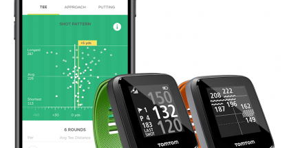 TomTomin uusi Golfer 2 SE -GPS-kello golfaajille.