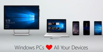 Windows rakastaa laitteita