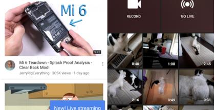YouTuben live-lähetykset laajenevat.
