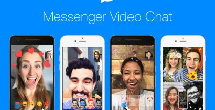 Facebook Messenger videopuhelut