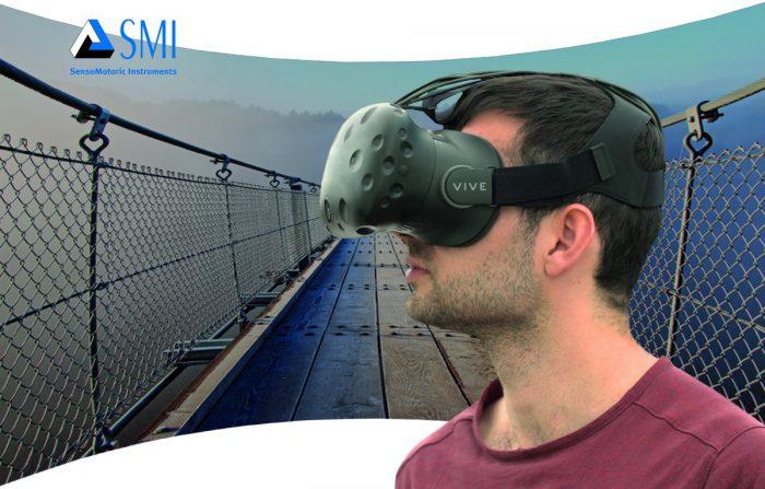 SMI:n katsetta seuraavaa teknologiaa on testattu esimerkiksi HTC Vive -virtuaalilasien kanssa.