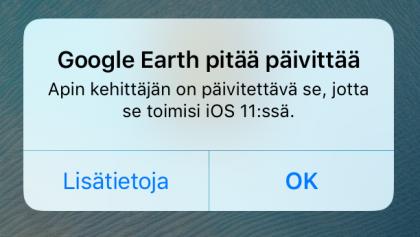iOS 11 32-bittinen