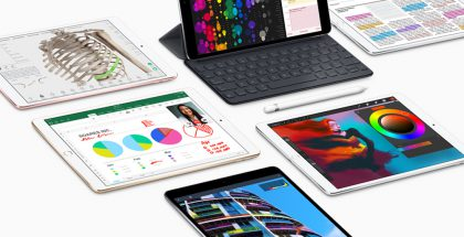 Nykyinen iPad Pro 10,5 tuuman koossa.