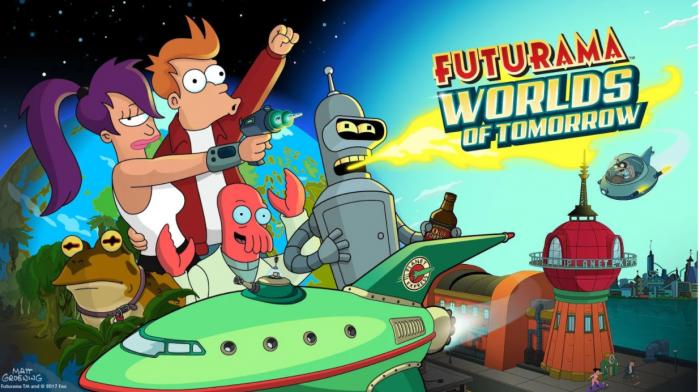 Futurama: Worlds of Tomorrow.