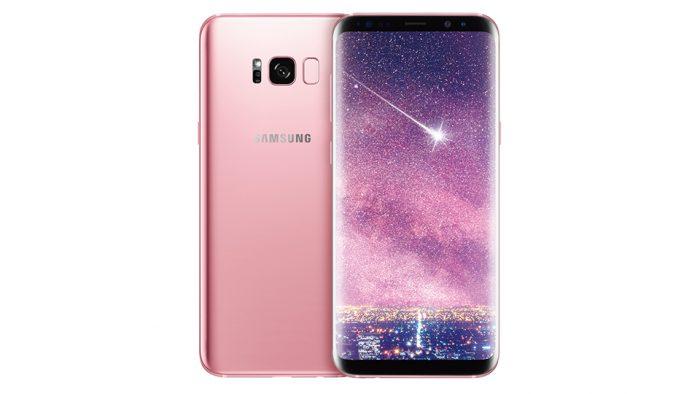 Galaxy S8+ Rose Pink