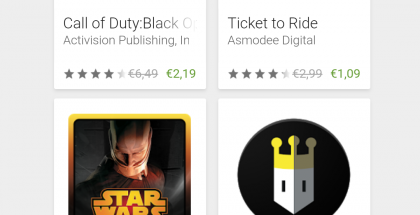 Google Playssa on nyt ale.