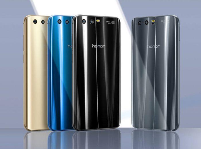 Honor 9:n väreistä kulta ja musta voivat tulla myöhemmin myyntiin Suomessa, mutta mitään tietoa ei vielä ole.