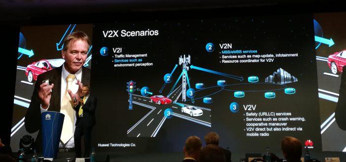5G:n visioidaan olevan merkittävssä roolissa yhteyksissä niin ajoneuvojen välillä, infrayhteyksiin kuin myös perinteisemmissä nettiyhteyksissä.