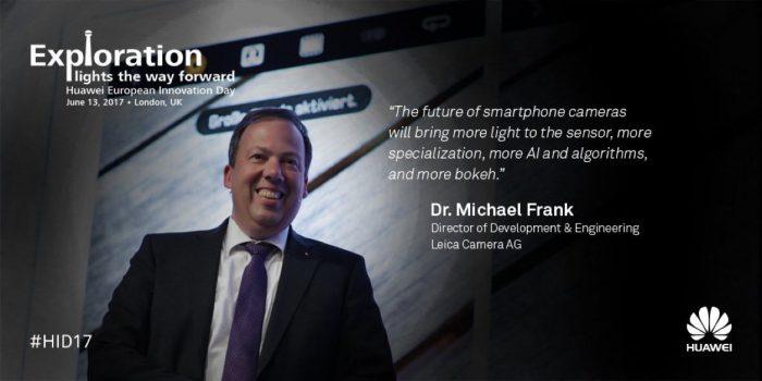 Leican Michael Frank ennustaa älypuhelinkameroiden kehittyvän usealla eri osa-alueella jatkossakin.