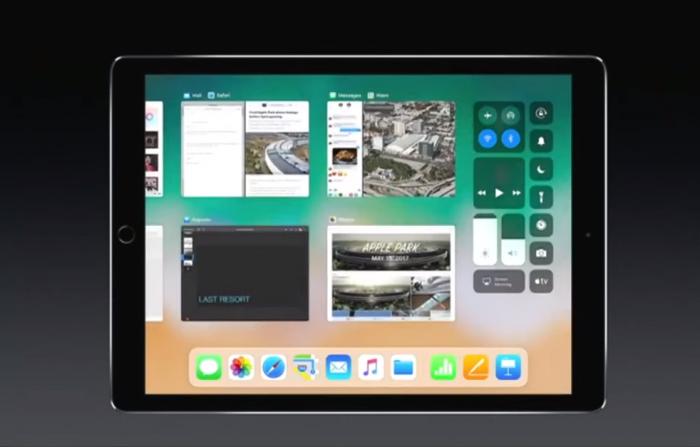 Moniajo uudistuu iPadeissa.