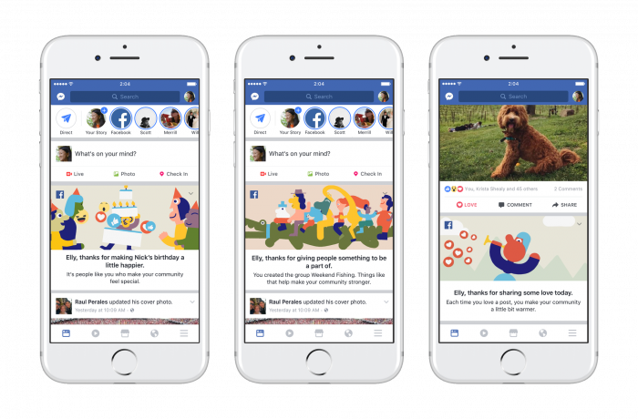 Facebook 2 miljardia