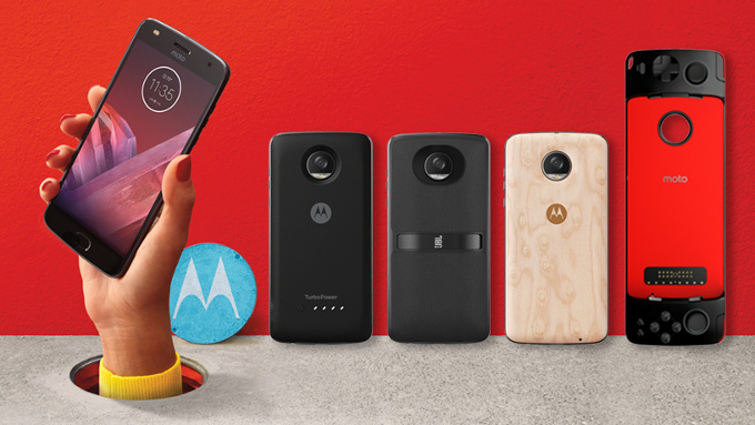 Moto Z2 Play tulee uusien Moto Mods -lisäkuorten kanssa.