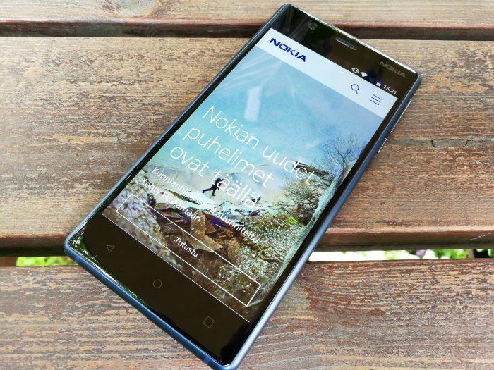 Nokia 3 on 150 euron puhelimeksi mainio.