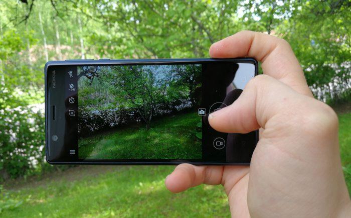 Nokia 3:n kamera on tyydyttävä, muttei erityisen kummoinen. Hintaan nähden ihan kelpo.