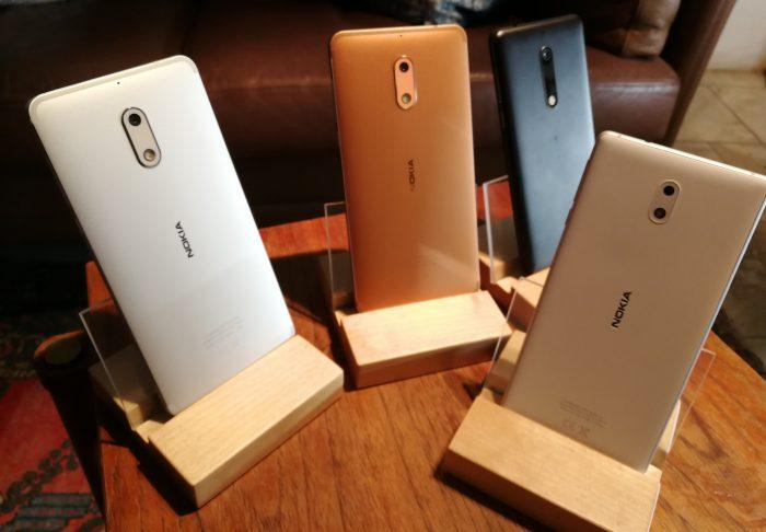 Nokia 3, Nokia 5 ja Nokia 6 ovat ensimmäiset uudet Nokia-älypuhelimet myynnissä.