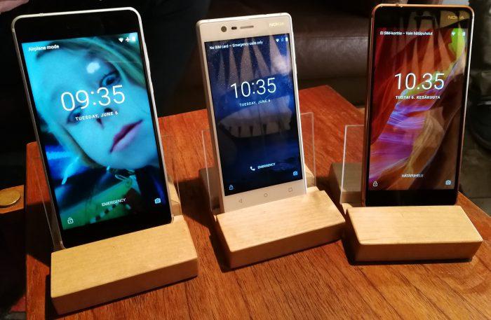 Uudet Nokia-älypuhelimet tulevat puhtaalla Androidilla.