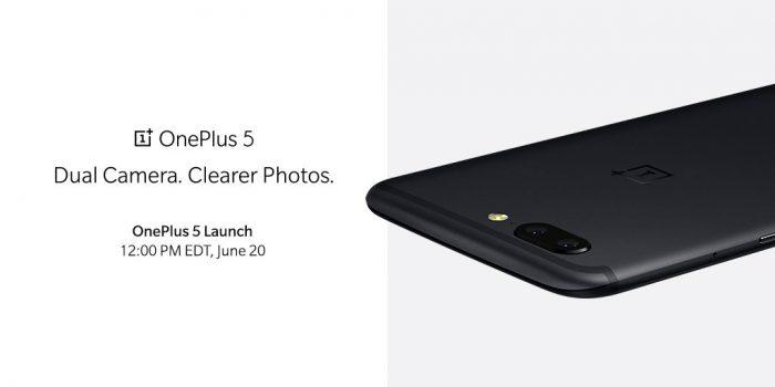 OnePlussan itse ennakkoon julkaisema kuva OnePlus 5:stä.