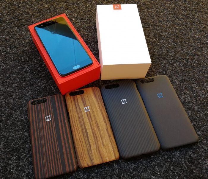 Myös OnePlus 5 saa joukon lisäkuoria.