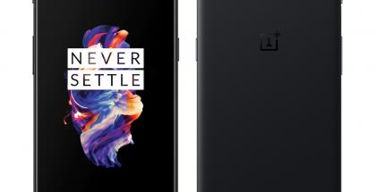 OnePlus 5 Midnight Black.