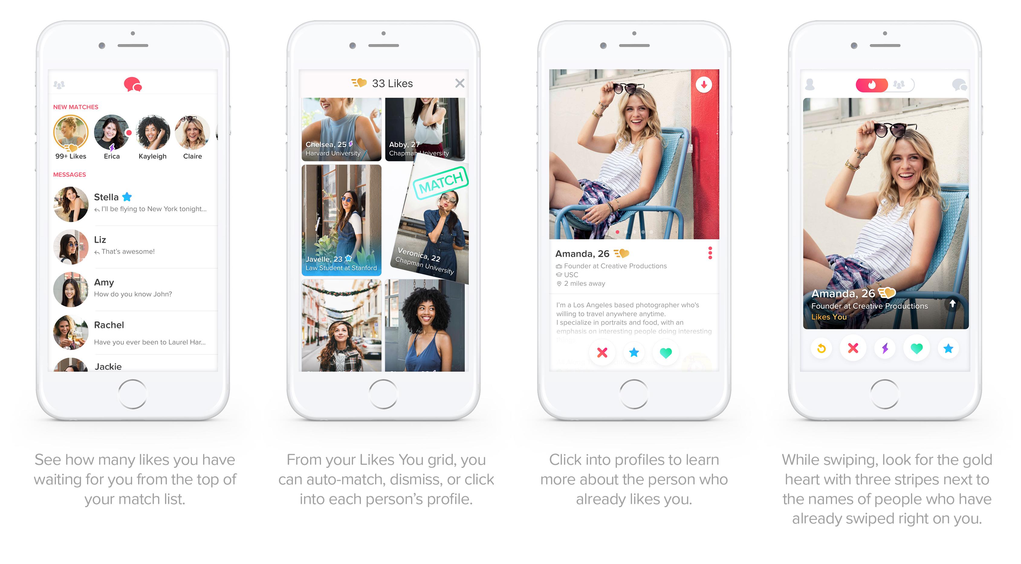 On Tinder uusi kytkennät App