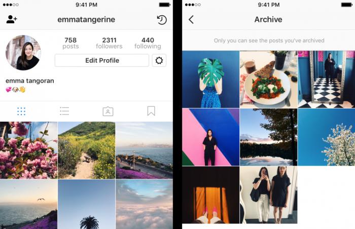 Instagram Arkisto