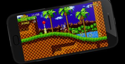 Legendaarisen Sonic-pelinkin saa osana Sega Forever -julkaisua nyt ilmaiseksi.