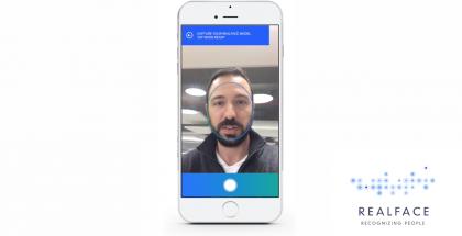 Realface iPhone kasvojentunnistus