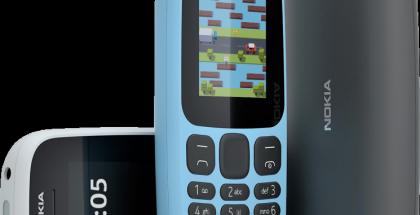 Halpa peruspuhelin Nokia 105.