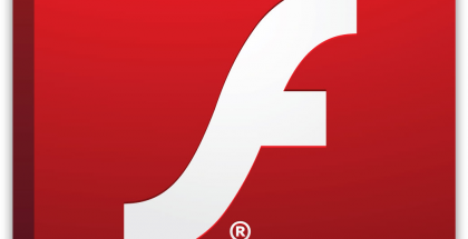 Adobe Flash logo.