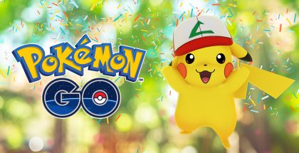 ash pikachu pokemon go