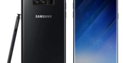 Tältä Samsung Galaxy Note8:n pitäisi näyttää. Muokattu mallikuva.