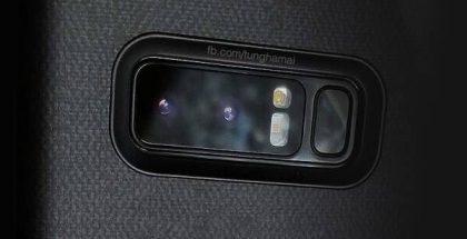 Mahdollinen vuotokuva Note8:n kamerasta.