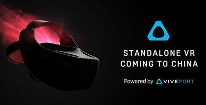HTC Standalone Vive on itsenäinen VR-laite.