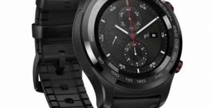 Porsche Design Huawei Smartwatch perustuu Huawei Watch 2:een.