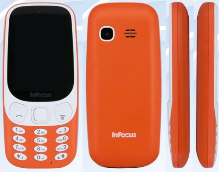 InFocus IF9027 on kuin täysi Nokia 3310 -kopio designiltaan.