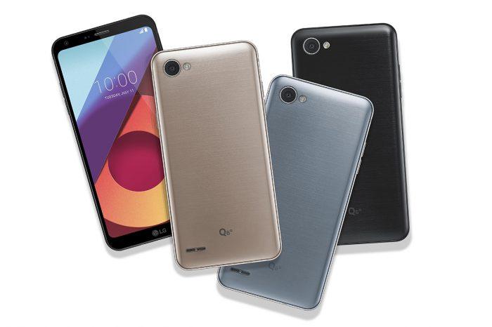 LG Q6a.