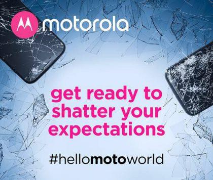 Motorola ennakoi jo uutta särkymättömällä näytöllä varustettua puhelinta.