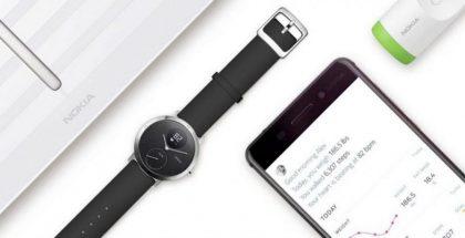 Withingsiltä Nokia-merkkisiksi siirtyneitä laitteita.