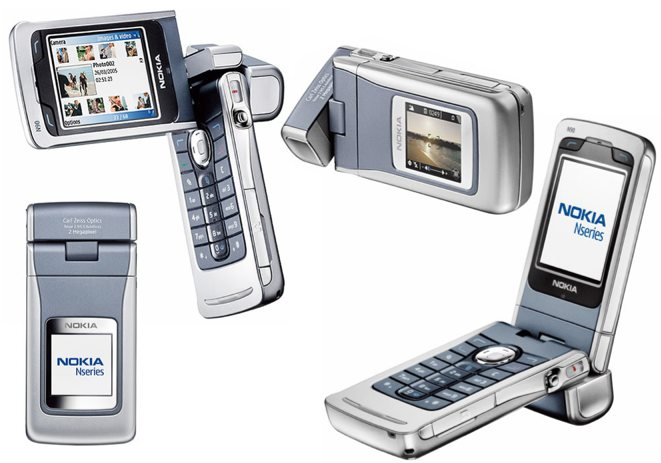 Nokia N90.