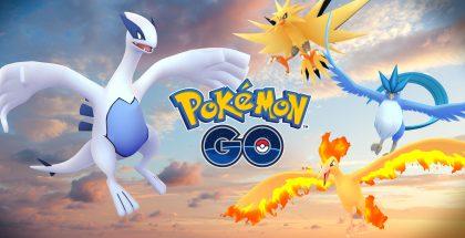 Legendaariset Pokémonit ovat saapuneet peliin.