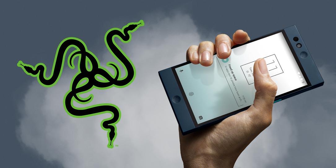 Razer osti jo tammikuussa startup-yhtiö Nextbitin, joka ehti tuoda markkinoille yhden älypuhelimen, kuvassa näkyvän Robinin.