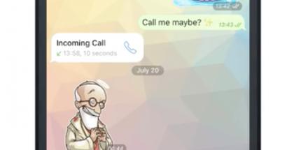 Telegram sai katoavat kuvat ja videot.