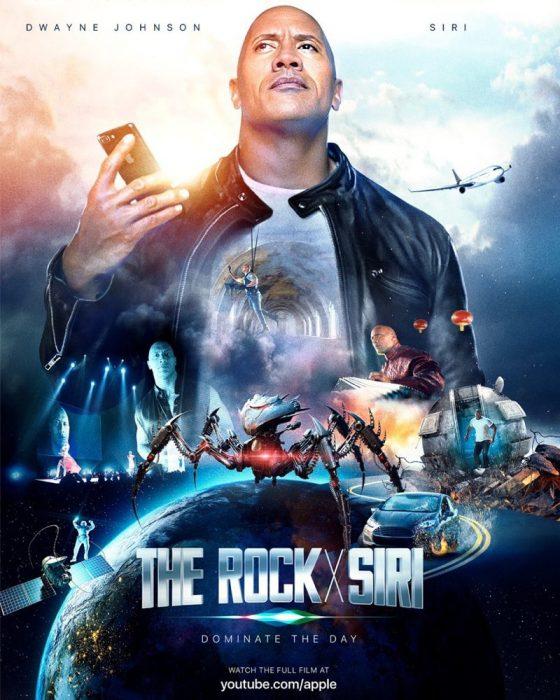 The Rock X Siri.