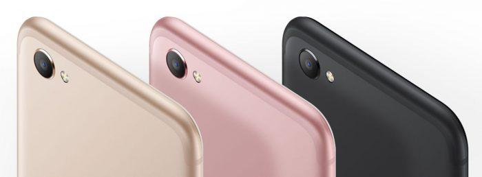 Vivo X9s -puhelinten eri värivaihtoehdot.