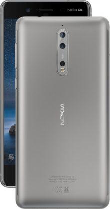 Nokia 8, teräs.